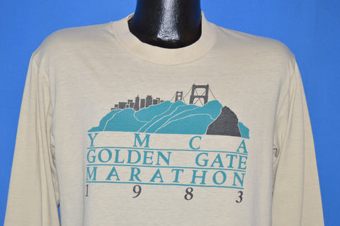 80s YMCA Golden Gate Marathon 1983 t-shirt Large