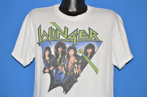 80s Winger Too Tough To Tame 1988 Tour t-shirt Large