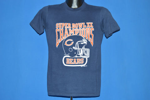 80s Chicago Beers Super Bowl XX t-shirt Extra Small