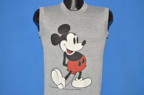 80s Mickey Mouse Sleeveless t-shirt Small