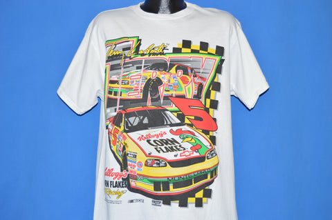 90s Terry Labonte Corn Flakes NASCAR t-shirt Large