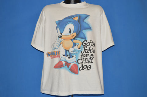 90s Sonic The Hedgehog And Knuckles Sonic 3 t-shirt Extra Large