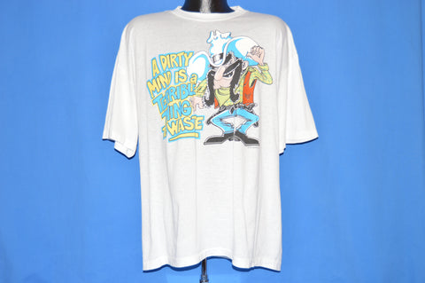 80s Dirty Mind Is a Terrible Thing To Waste t-shirt Extra Large