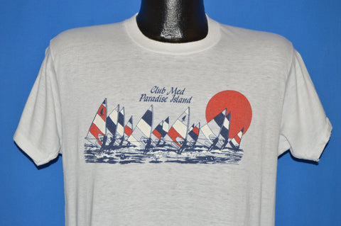 80s Club Med Paradise Island t-shirt Large