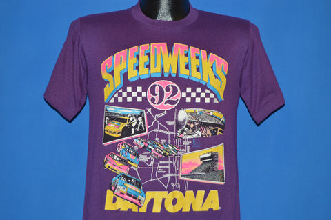 90s Daytona Speed Weeks 1992 NASCAR t-shirt Small