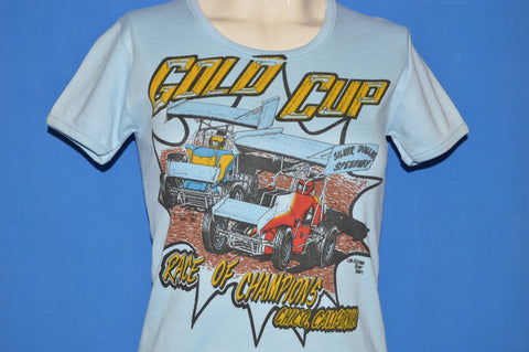 80s Silver Dollar Speedway Race of Champions t-shirt Women's Small