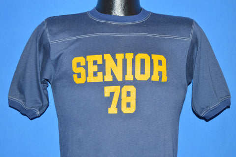 70s High School Senior 1978 Jersey t-shirt Small