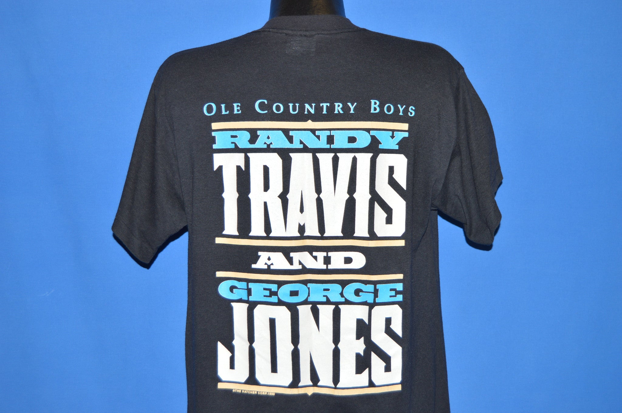 Large Randy Travis tshirt mens western shirt zbCZEVtS