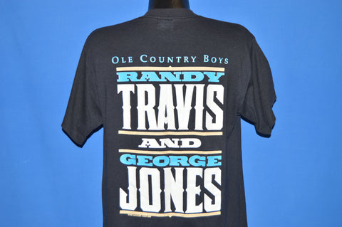 90s Randy Travis George Jones Ole Country Boys t-shirt Large