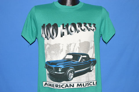 80s Ford Mustang 400 Horsepower t-shirt Small