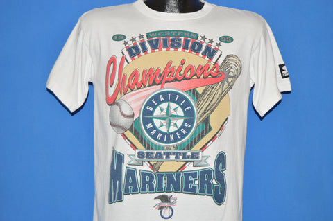 90s Seattle Mariners Division Champions t-shirt Youth Extra Large