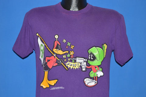 90s Marvin The Martian Daffy Duck Peace Flag t-shirt Medium