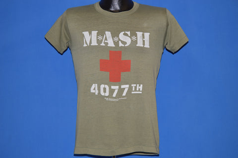 80s M*A*S*H 4077th TV Show t-shirt Small