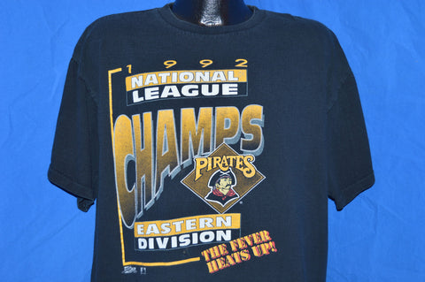 1992 Pittsburgh Pirates National League Champs t-shirt Extra-Large