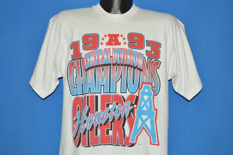 90s Houston Oilers 1993 Champs t-shirt Extra Large