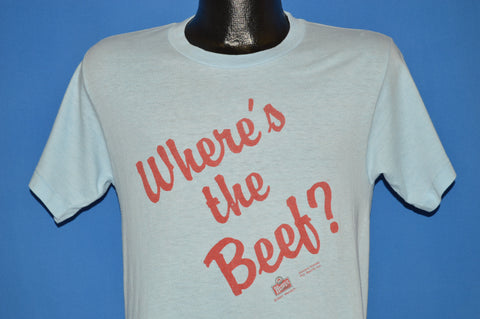 80s Wendy's Where's The Beef t-shirt Small