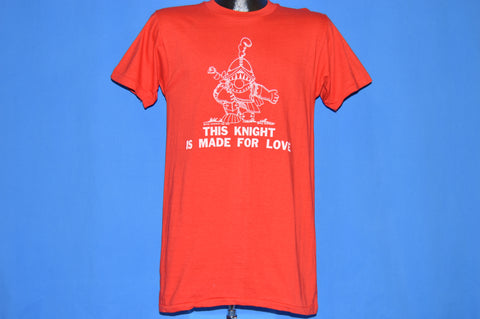 70s This Knight Is Made For Love t-shirt Medium