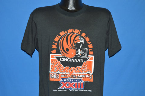 80s Cincinnati Bengals Super Bowl XXIII t-shirt Large