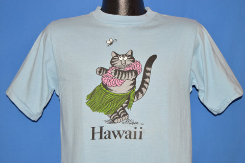 80s B Kliban Fat Cat Hawaii t-shirt Medium