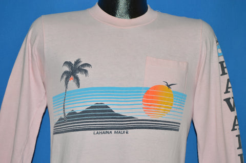 70s Hawaii Lahaina Maui Long Sleeve t-shirt Small