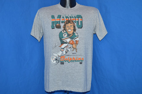 80s Miami Dolphins Dan Marino Caricature t-shirt Medium