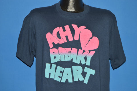 90s Achy Breaky Heart Puffy Paint t-shirt Extra Large