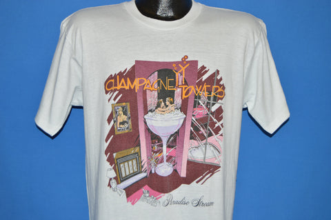 80s Champagne Towers Paradise Stream t-shirt Large