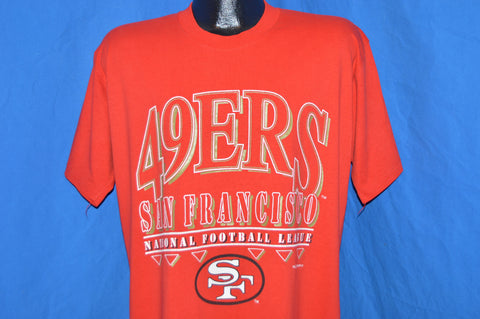 90s San Francisco 49ers t-shirt Large