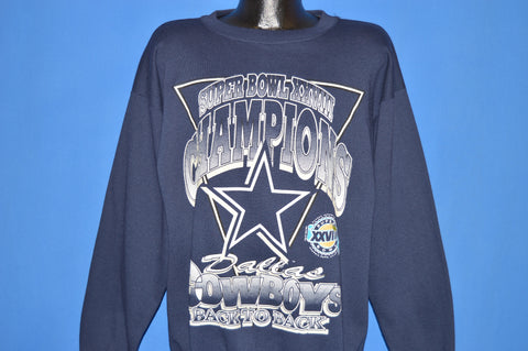 90s Dallas Cowboys Super Bowl XXVIII 1994 Sweatshirt Extra Large