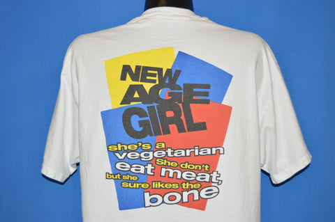 90s Deadeye Dick New Age Girl t-shirt Extra Large