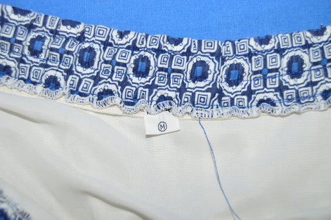 50s Spotted Men's Swim Trunks Size 33 Medium