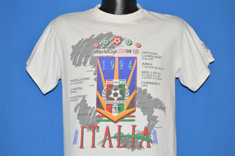 90s Fifa World Cup Soccer 1994 Italia t-shirt Medium