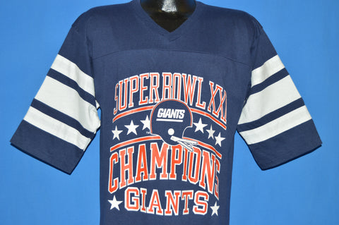 80s New York Giants Super Bowl XXI Champions t-shirt Large