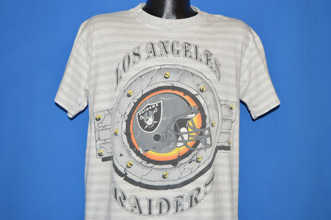 90s Los Angeles Raiders Helmet Logo t-shirt Large