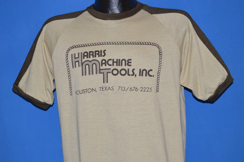 80s Harris Machine Tools Inc Houston t-shirt Large