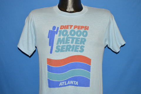 80s Diet Pepsi 10,000 Meter Series t-shirt Small