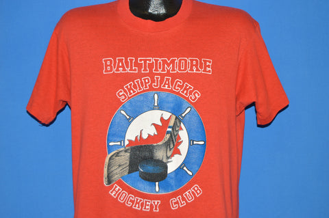 80s Baltimore Skipjacks Hockey Club t-shirt Large