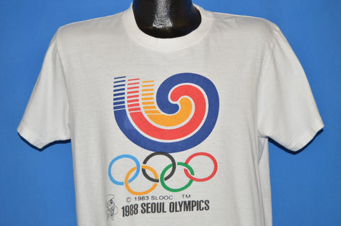 80s Seoul Summer Olympics 1988 South Korea t-shirt Large