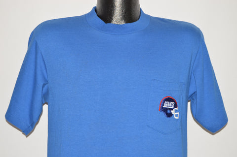 90s New York Giants Pocket t-shirt Medium