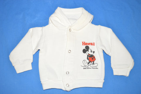 70s Mickey Mouse Hawaii Baby Sweatshirt 12-18 Month