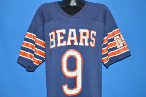 80s Chicago Bears Striped Jersey t-shirt Extra Large