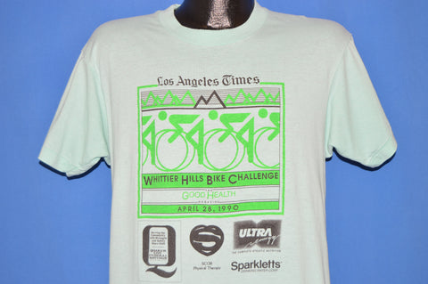 90s Whittier Hills Bike Challenge 1990 t-shirt Large