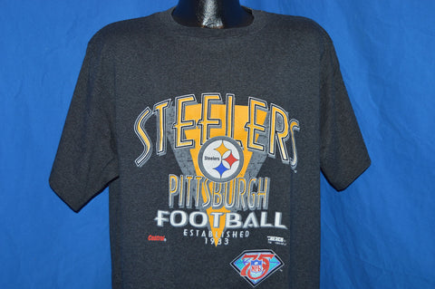 1994 Pittsburgh Steelers 75th Anniversary t-shirt Extra-Large