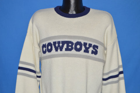 80s Dallas Cowboys Cliff Engle Sweater Extra Large