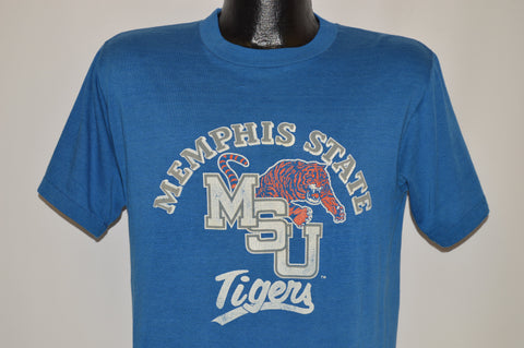 80s Memphis State University Distressed t-shirt Medium
