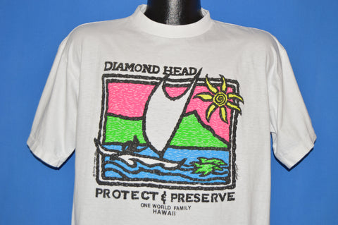 90s Hawaii Diamond Head Protect & Preserve t-shirt Extra Large
