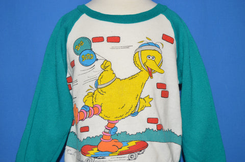 80s Sesame Street Big Bird Toddler sweatshirt 3T / 4T