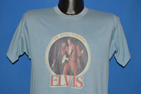 70s Elvis The King Forever Iron On t-shirt Medium