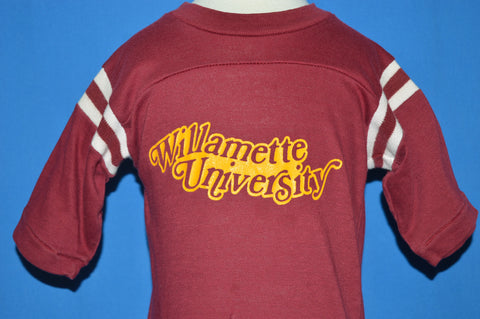 80s Willamette University Jersey Toddler t-shirt 3T