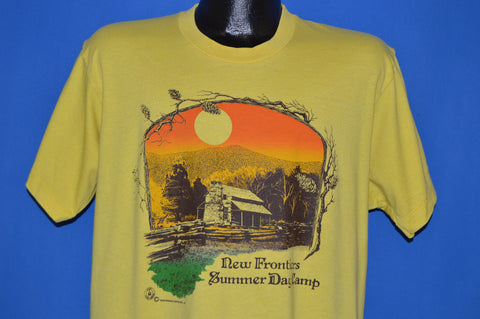 90s New Frontier Summer Day Camp t-shirt Large